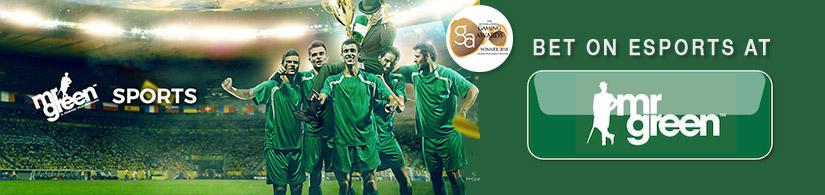 Mr Green Banner Esport Bonus