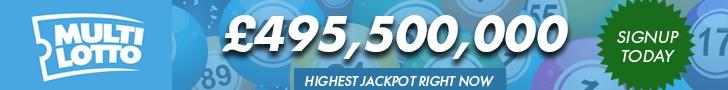 Multilotto Banner Lotto Jackpot